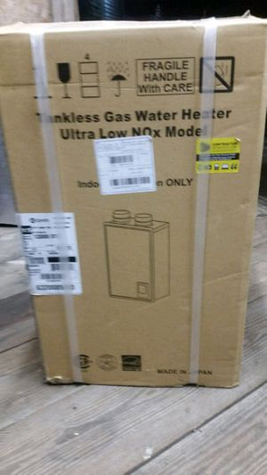 API 15555 btw gas tankless hot water heater for Sale in Conway, SC
