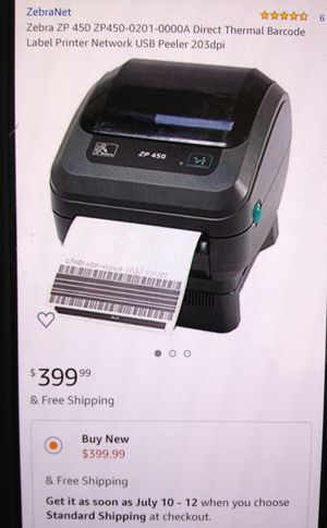 Shipping label printer for Sale in Queen Creek, AZ