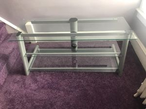 TV Stand in excellent condition three glass shelves for Sale in Philadelphia, PA