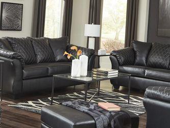 🚚Instock ▶️Betrillo Black Living Room Set 🗨️New Brand ⚡ for Sale in Silver Spring,  MD