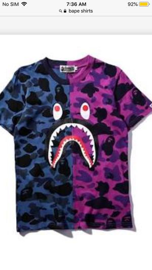 Bape shirts for Sale in St. Petersburg, FL