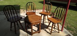 chairs and table for Sale in Ore City, TX