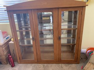Glass cabinet for Sale in Goodyear, AZ