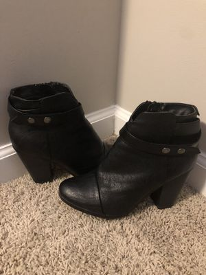 Black Womens Size 7.5 Boots for Sale in Kennesaw, GA