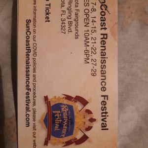 Renaissance Tickets for Sale in Brooksville, FL