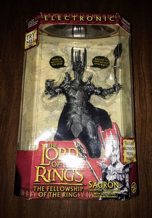 Lord of the Rings Sauron of the Second Age for Sale in Longview, TX