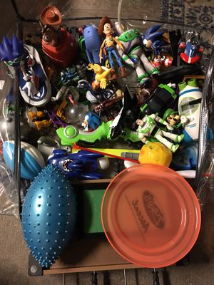 Bag of mixed toys for Sale in Tampa, FL
