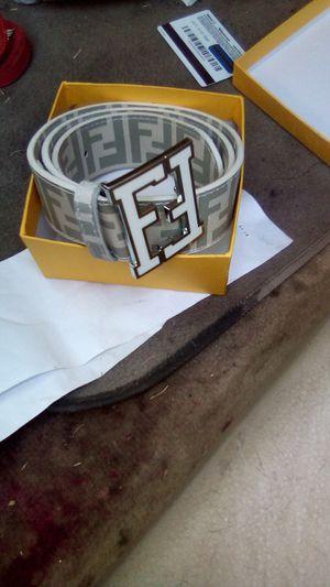 FEINDI ; White grayish Belt for Sale in Mesquite, TX