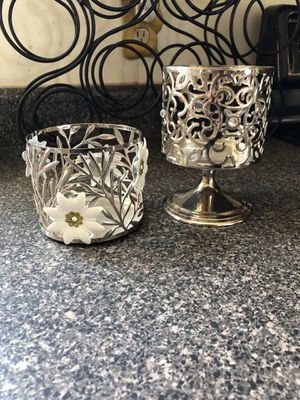 Bath and body works candle holders for Sale in Mineral, VA