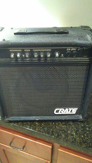 Crate GX-20M guitar amp Made in Usa for Sale in Los Angeles, CA