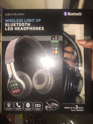 Bluetooth LED headphones for Sale in Washington, DC