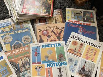 Vintage Macrame Books for Sale in Independence,  WV