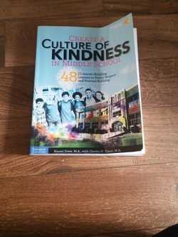 Creat A Culture of Kindness In Middle school for Sale in Norfolk,  VA