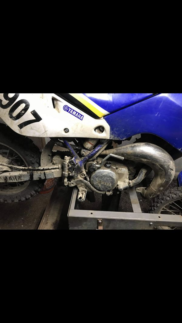 Yamaha yz80 1999 All it needs is a chain tensioners 1100