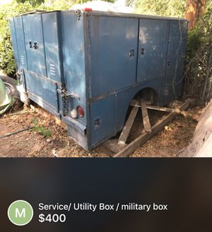 Military Service box, utility box, aluminum construction for Sale in Twin Falls, ID