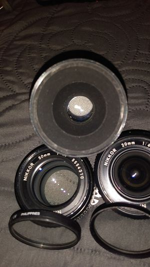 Nikon D70 camera lenses for Sale in Santa Ana, CA