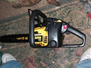 2 McCulloch chainsaws for Sale in Payson, AZ