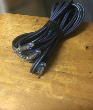 Y rca audio cable 20 ft wire world Luna 5 for Sale in Hawthorne, CA