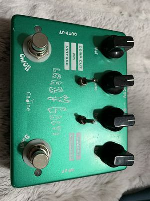 Crazy Cacti Guitar/Bass Distortion/Overdrive Pedal for Sale in Huntington Beach, CA