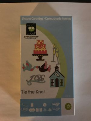 Cricut cartridge- Tie the Knot for Sale in Wallingford, CT