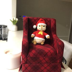 NEW!! LITTLE RED CHRISTMAS CHAIR for Sale in Pasadena, CA
