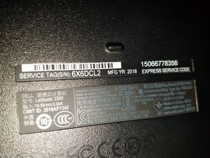 Dell 3380 latitude notebook for Sale in Pflugerville, TX