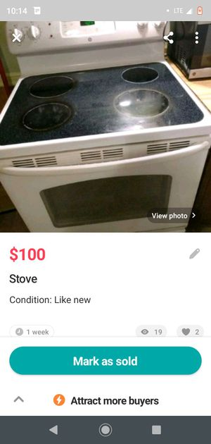 Stove for Sale in Sunbury, PA