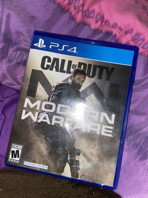 Call of duty modern warfare ps4 for Sale in Lowell, MA