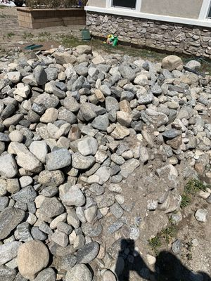 River rock ( FREE ) for Sale in Rancho Cucamonga, CA