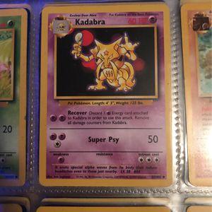Kadabra 1995 pokemon card for Sale in Tampa, FL