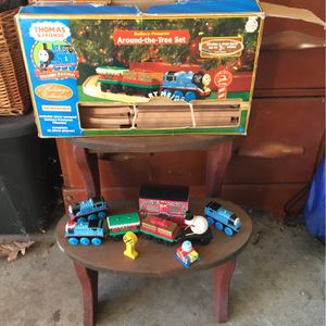 Thomas and friends around the tree set wooden tracks for Sale in Manchester, PA