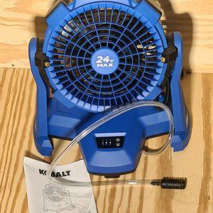 Kobalt 24v Misting Fan Tool Only for Sale in Easton, MA