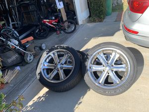Cooper tires 285/46R20 rims set (4) for Sale in Mill Valley, CA