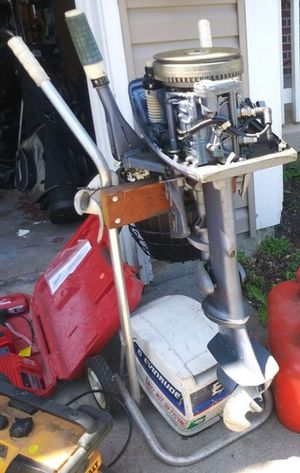 Boat Motor With Stand for Sale in West Chicago, IL