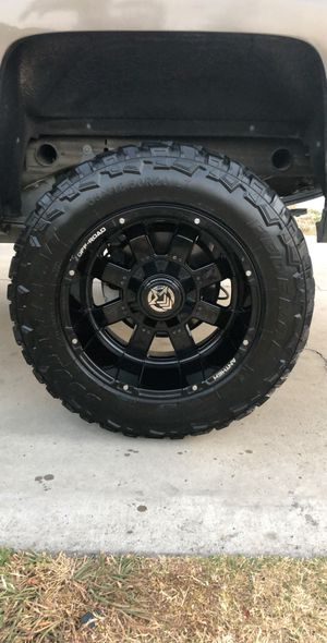 Rims and tires 6 lug for Sale in Riverside, CA