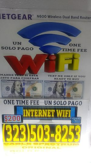 Modems routers internet con wifi for Sale in South Gate, CA