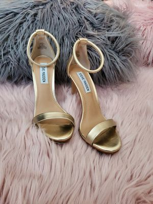 Gold Steve Madden Heels, size 5.5M for Sale in Chino, CA