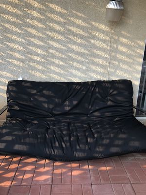 Futon and frame for Sale in Beaumont, CA