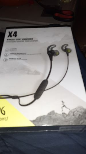 Jaybird x4 sports earbud sealed for Sale in San Diego, CA