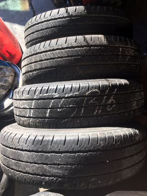 Load range tires 195/75/16 for Sale in Austell, GA