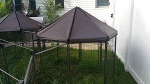 4 interconnected covered dog 🐶 pens for Sale in Holland, MI