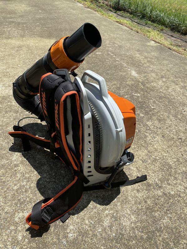 Stihl br800c backpack blower