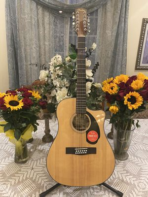 natural fever 12 string electric acoustic guitar for Sale in Bell Gardens, CA