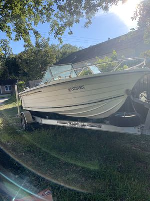1993 manatee 18.ft fishing boat for Sale in Cypress, TX