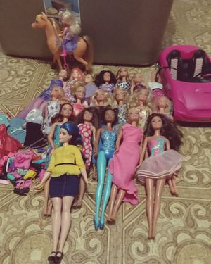 Big Barbie doll lot with clothes and accessories for Sale in Chicago, IL
