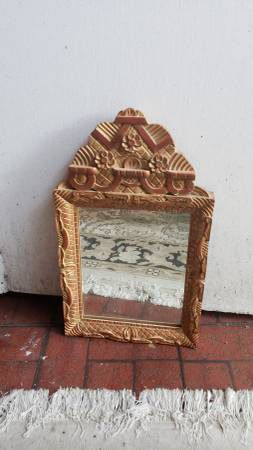 Antique Wood Mirror for Sale in Glendale, CA