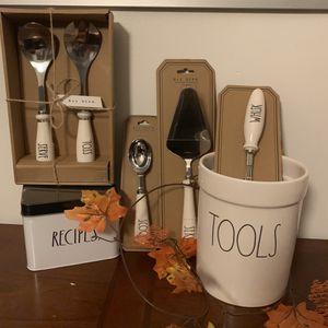 Rae Dunn Complete Kitchen Utensil Set for Sale in Pasadena, CA