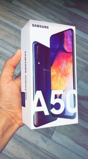 Factory Unlocked Samsung Galaxy A50, 32gb, Brand New in Box! for Sale in Fort Worth, TX