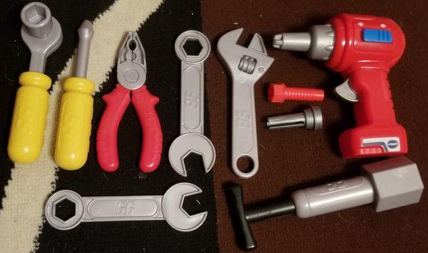 Disney McQueen toy toolbox