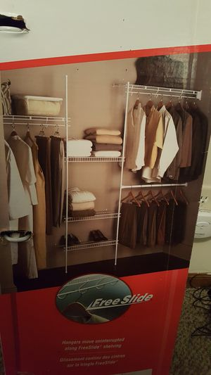 Rubbermaid closet organizer for Sale in Peninsula, OH